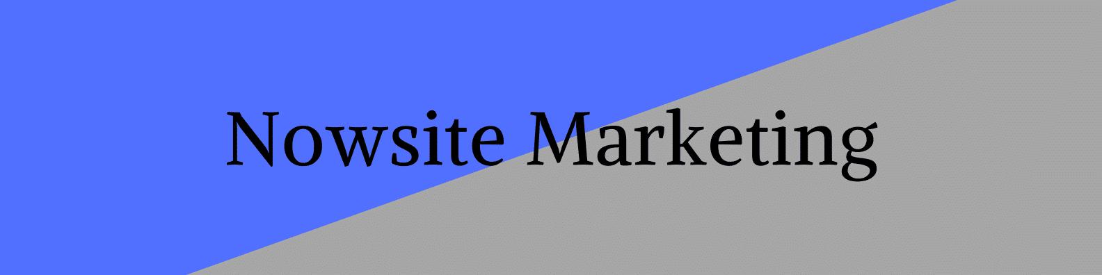 Titre Nowsite marketing