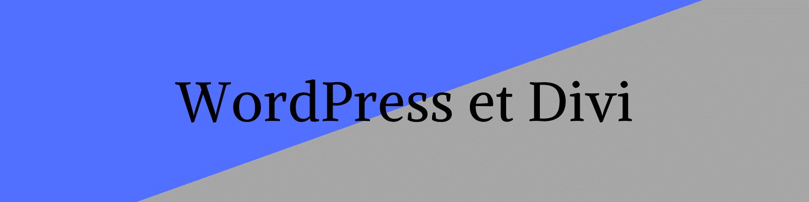 Titre WordPress